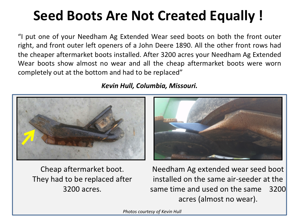 All Seed Boots Are Not Created Equally